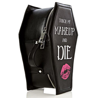 Coffin Makeup Bag