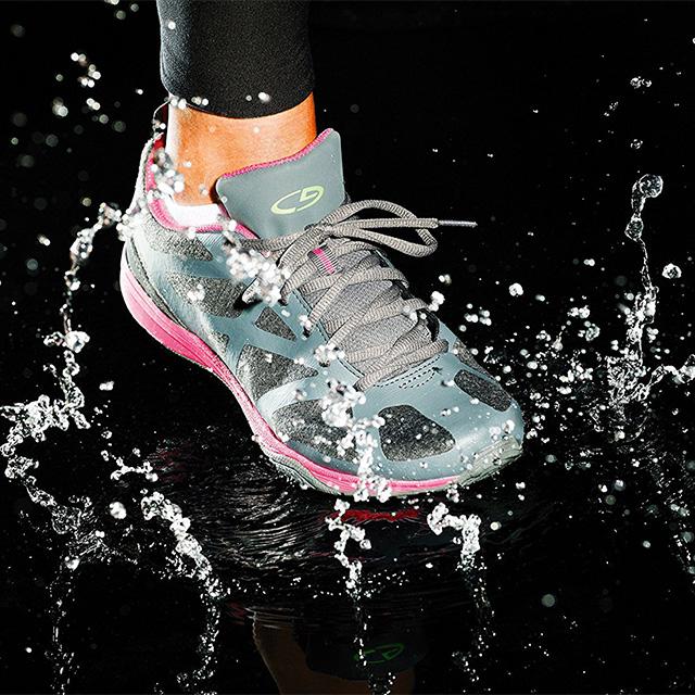 Hydrophobic Shoe Treatment