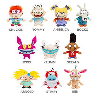 Nickelodeon Plush Dolls