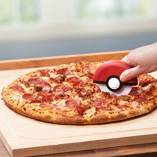 Poke Ball Pizza Cutter