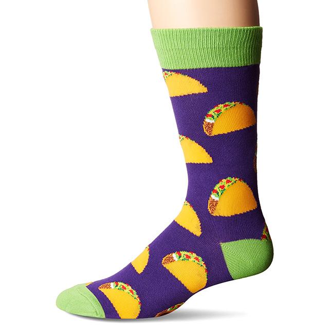 Purple Taco Socks