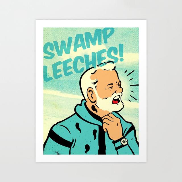 Swamp Leeches Print