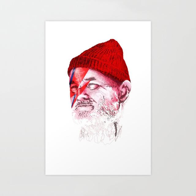 Zissou Sane Print