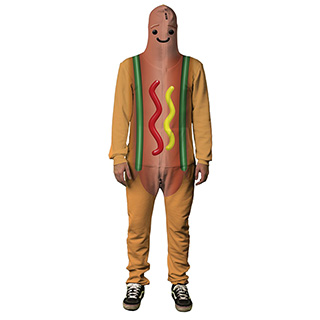 Dancing Hot Dog Onesie