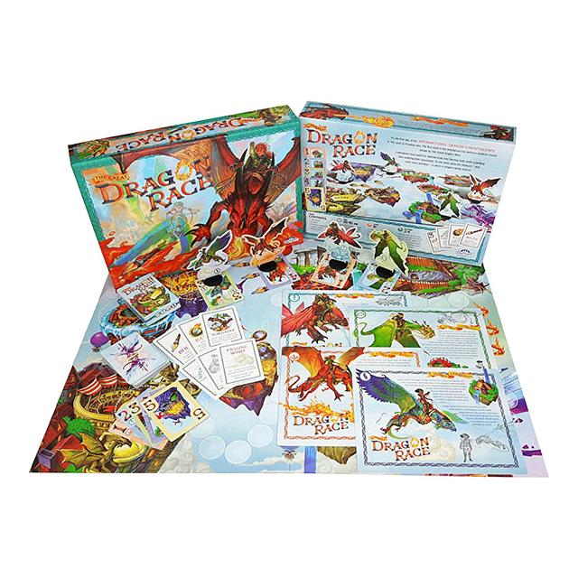 Dragon Race Board Game