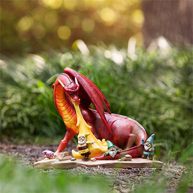 Garden Gnome Dragon Massacre