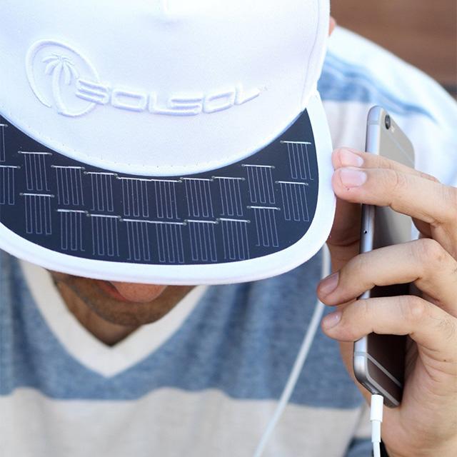 Phone Charging Hat