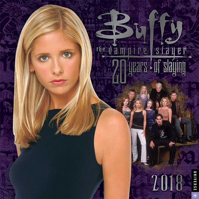 Buffy - 20 Years of Slaying Wall Calendar