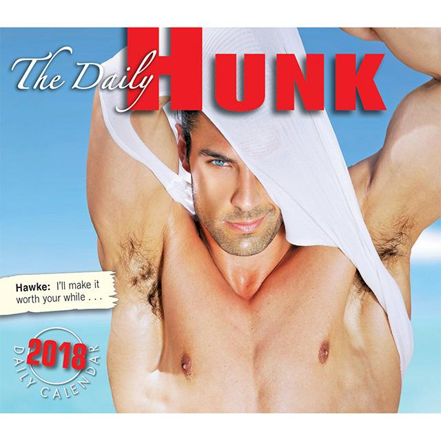 Daily Hunk Calendar