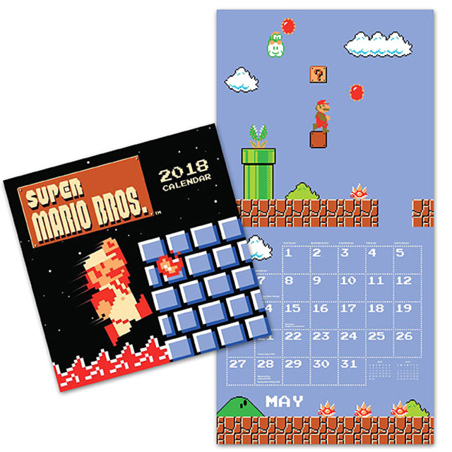 Super Mario Bros. Wall Calendar