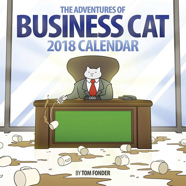The Adventures of Business Cat Calendar